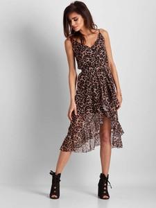 Sukienka Ivon asymetryczna midi