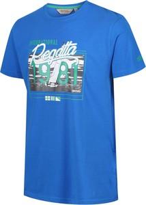 T-shirt Regatta z krótkim rękawem z bawełny