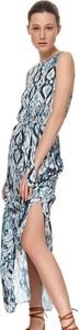 Sukienka Top Secret koszulowa bez rękawów maxi