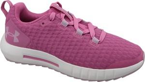 Różowe buty sportowe dziecięce Under Armour sznurowane