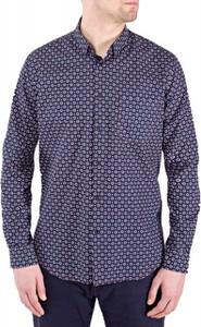6abde1aa3f27f granatowy garnitur koszula ecru - stylowo i modnie z Allani