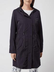 Granatowa kurtka Montego w stylu casual