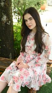 Sukienka Justmelove z długim rękawem