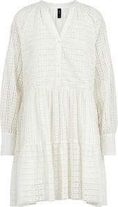 Sukienka Y.A.S z długim rękawem z bawełny mini