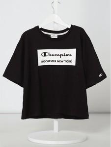 Bluzka dziecięca Champion z krótkim rękawem z bawełny