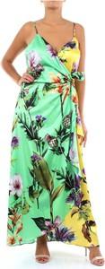 Sukienka Clips na ramiączkach z dekoltem w kształcie litery v