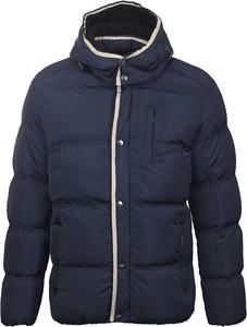 Niebieska kurtka Glo-Story z plaru w młodzieżowym stylu