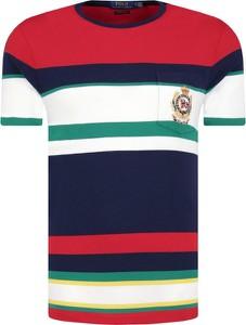 T-shirt POLO RALPH LAUREN w stylu casual z krótkim rękawem