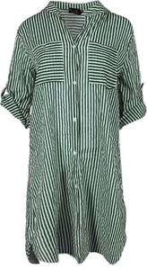 Sukienka Zwillingsherz w stylu casual z długim rękawem mini