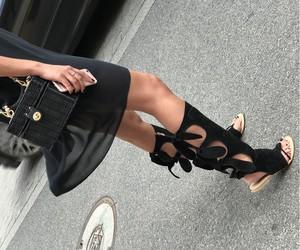 Czarne sandały Beyco