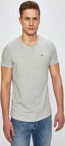 T-shirt Tommy Jeans w stylu casual z bawełny
