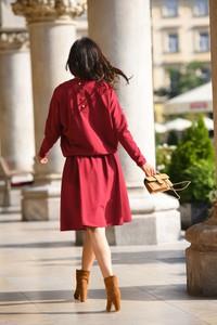 Sukienka Lemoniade z długim rękawem z bawełny