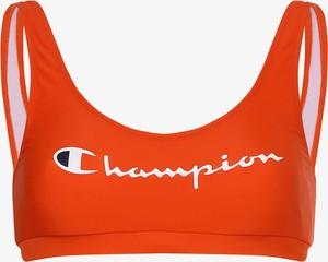 Pomarańczowy strój kąpielowy Champion w sportowym stylu z nadrukiem