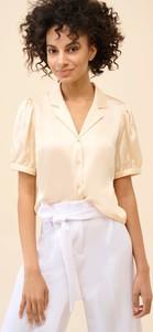 Bluzka ORSAY z tkaniny z krótkim rękawem