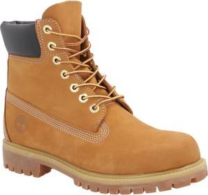 Żółte buty zimowe Timberland
