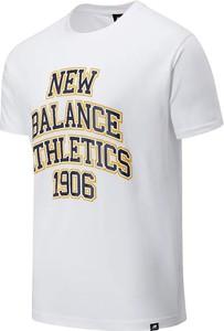 T-shirt New Balance z dżerseju w sportowym stylu