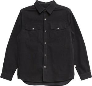 Czarna koszula dziecięca Wheat dla chłopców
