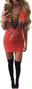 Sukienka Arilook z długim rękawem mini z dresówki