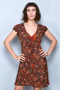 Sukienka Tarifa mini z dekoltem w kształcie litery v
