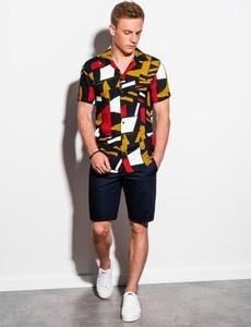 Koszula Ombre z krótkim rękawem w młodzieżowym stylu