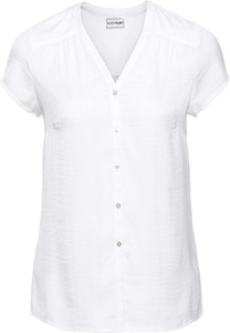 Koszula bonprix BODYFLIRT z krótkim rękawem z dekoltem w kształcie litery v