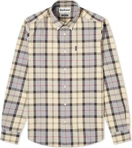 Koszula Barbour w stylu casual z kołnierzykiem button down z długim rękawem