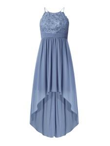 Niebieska sukienka Jake*s Cocktail z szyfonu bez rękawów