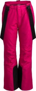 Różowe spodnie sportowe Outhorn