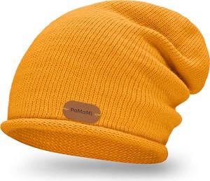 Żółta czapka PaMaMi