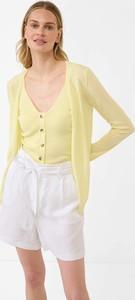 Żółty sweter ORSAY z dzianiny w stylu casual