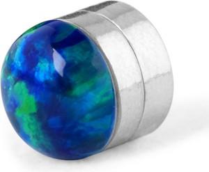 Trendhim Magnetyczny kolczyk z motywem niebieskiej ziemi 5 mm