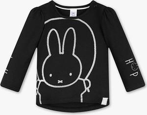 Czarna koszulka dziecięca Baby Club z bawełny