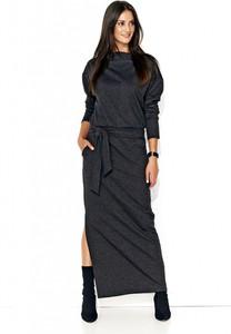 Sukienka Numinou w stylu casual z długim rękawem prosta