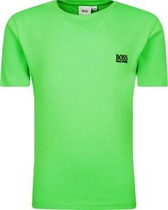 Koszulka dziecięca Hugo Boss z krótkim rękawem