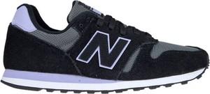 Buty sportowe New Balance z nubuku z płaską podeszwą