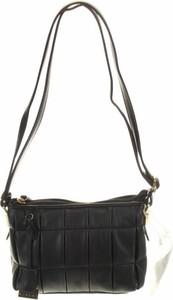 Czarna torebka Sisley średnia na ramię