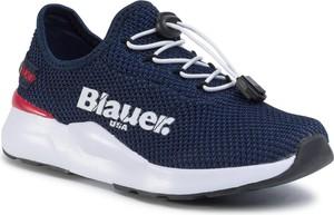 Granatowe buty sportowe dziecięce Blauer