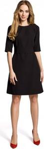 Czarna sukienka MOE