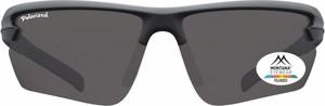 Stylion Sportowe okulary czarne z Polaryzacją MONTANA SP305