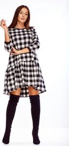 Sukienka LA BLANCHE z długim rękawem w stylu casual oversize