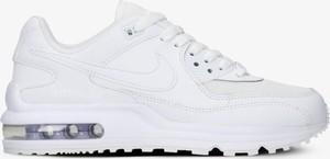 Buty sportowe Nike z płaską podeszwą ze skóry w sportowym stylu