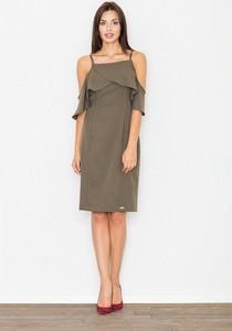 Sukienka sukienki.pl z krótkim rękawem