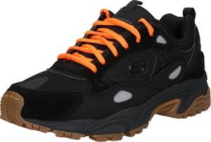 Buty sportowe Skechers w sportowym stylu z zamszu