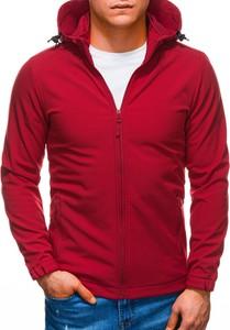 Czerwona kurtka Edoti krótka