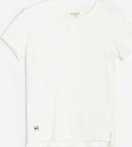 Koszulka dziecięca Reserved z krótkim rękawem dla chłopców z bawełny