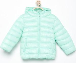 Zielona kurtka dziecięca Reserved dla dziewczynek