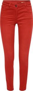 Czerwone spodnie Esprit w stylu casual