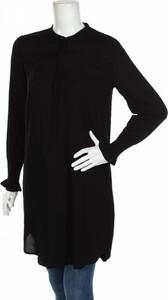 Czarna tunika JACQUELINE DE YONG w stylu casual