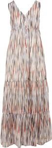 Sukienka See u Soon maxi z dekoltem w kształcie litery v