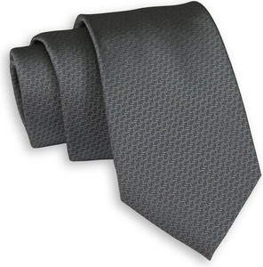 Czarny krawat Chattier